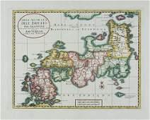 175C Tirion Isaak Map of Japan
