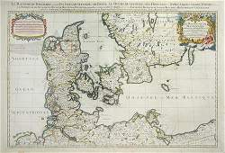 233C: Sanson (Nicolas) Le Royaume de Danemark