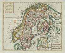 236C Tirion Isaak map of Sweden