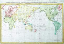 283C Roberts H General Chart of Cooks Voyages