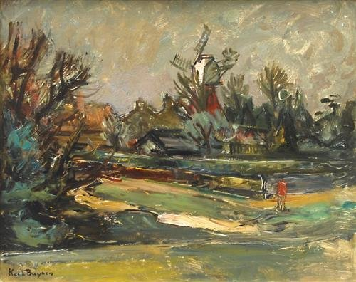 14A: Keith Baynes windmill, wimbledon common