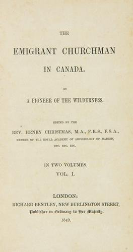 13D: Christmas(H)Emigrant Churchman in Canada