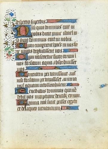 3A: Book Of Hours, single f.