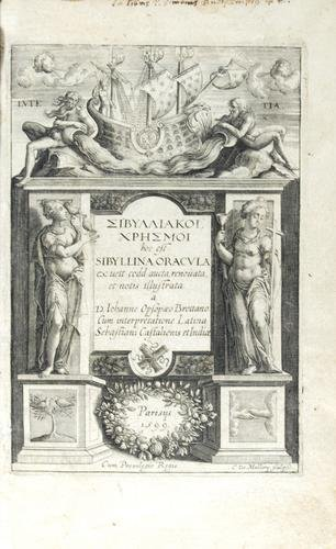 426B: Opsopoeus Sibyllina Oracula,1599