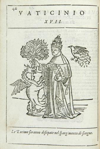 430B: Joachim, Abbot Of Fiore Profetie 1625