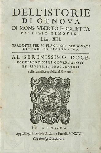 442B: Foglietta Dell'Istorie di Genova [1617].