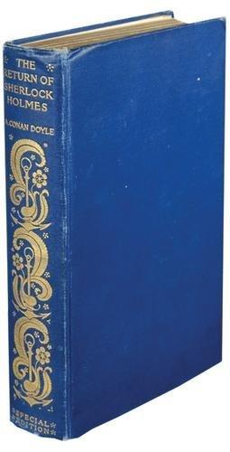 598B: Doyle (Conan) Return of Sherlock Holmes