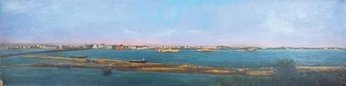 1C: Panoramic Mississippi river landscape