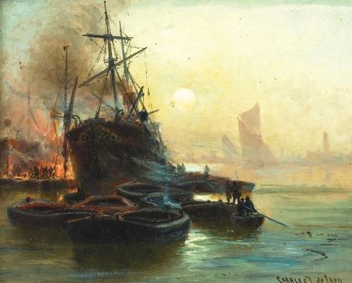 7C: De Lacy (Charles John) The Port of London