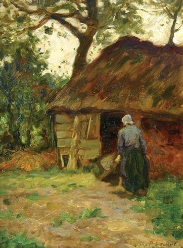8C: Downie (John P.) country woman