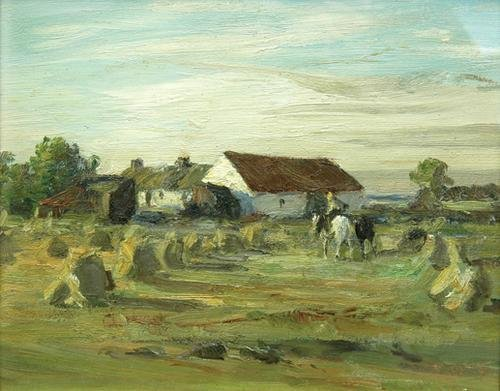 18C: manner of W. McTaggart. Harvest