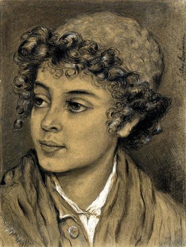 205C: Kaufmann (Isidor) study of a jewish boy