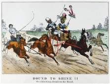 351C Currier  Ives Bound to Shine Bound to Smash