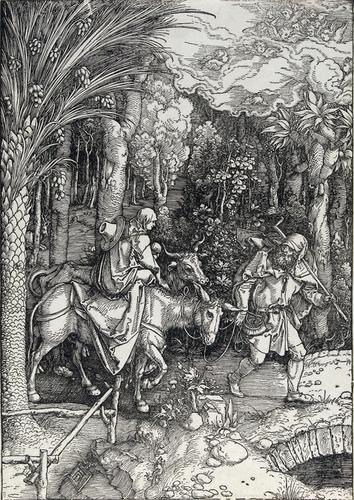 408C: Dürer (Albrecht) The Flight into Egypt