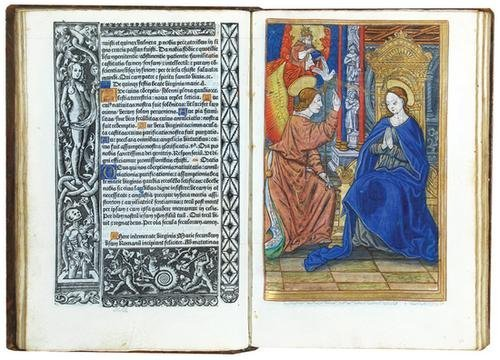 1D: Book Of Hours Heures a l'usaige de Romme