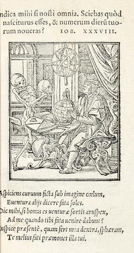 16D: Holbein (Hans).-  Imagines Mortis