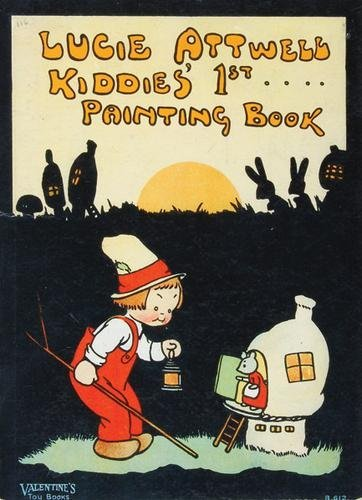 86D: Lucie Attwell Kiddies' 1st. Painting Book