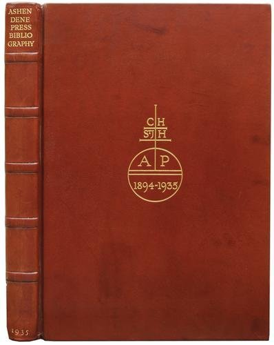 16A: Hornby.Descr.Bib.Ashendene Press,ltd.,1935
