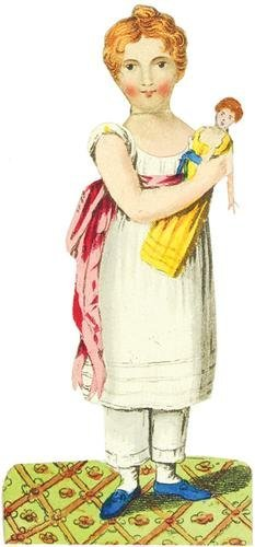 413A: Costume Book.-History of Little Fanny (The)