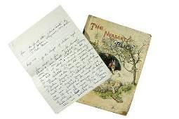 """608A: Lewis Carroll"""". The Nursery """"Alice"""
