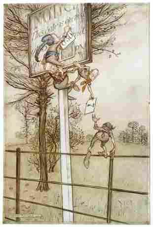 812A: Rackham (Arthur) The Peter Pan Portfolio