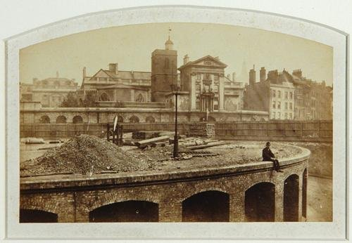 1C: Henry Flather (1839-1901) studies of a railway con