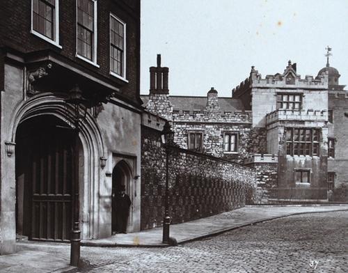 6C: Henry Dixon (1820-1893) charterhouse, london, c.18