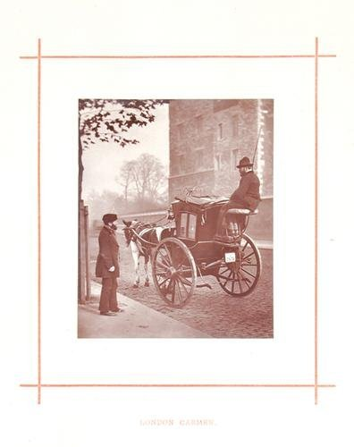 7C: John Thomson (1837-1921) london cabmen, c.1877