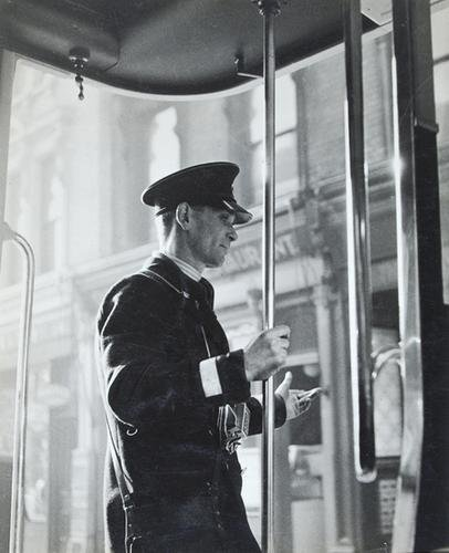 13C: Edith Tudor Hart (1908-1978) london bus conductor