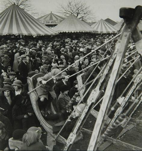14C: Wolfgang Suschitzky (b.1912) hampstead heath fair