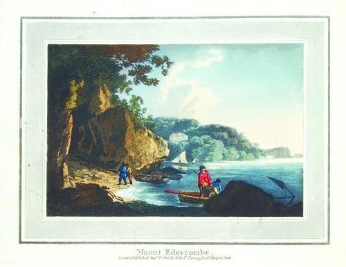 632A: Payne.P'que Views..Devonshire, Cornwall,1826