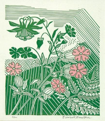 5C: Edward Bawden (1903-1989) campions and columbine