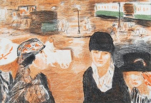 283C: Pierre Bonnard  place clichy (r.m.77)