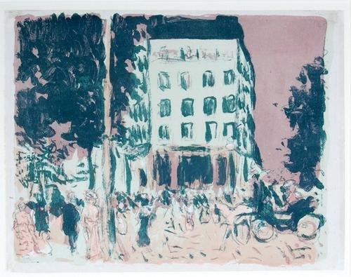 284C: Pierre Bonnard  place clichy (r.m.77)
