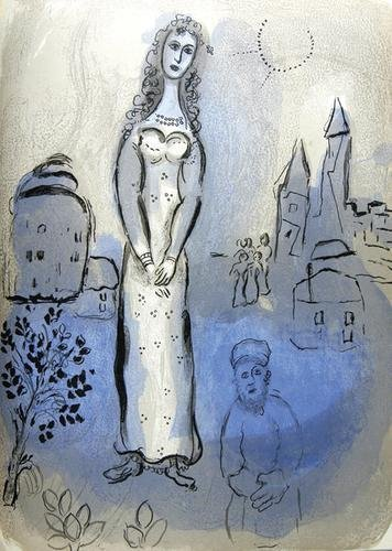 297C: Marc Chagall, dessins pour la bible