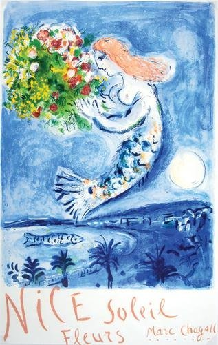 299C: after Marc Chagall baie des anges