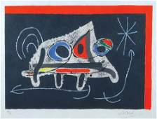 Joan Miro, from. le lézard aux plumes d'or