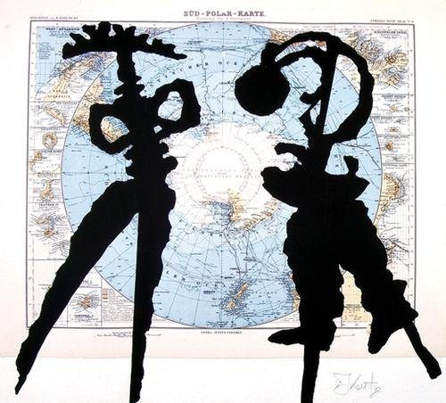 444C: William Kentridge (b.1955) atlas confession