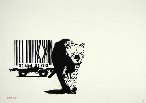 494C: Banksy (b.1975) barcode, 2004