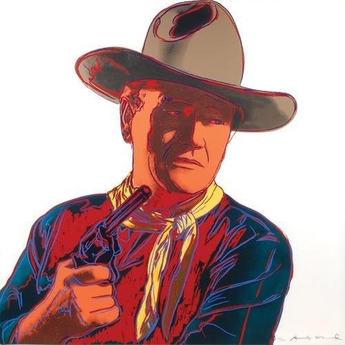 608C: Andy Warhol (1928-1987) john wayne (f.&s.377)