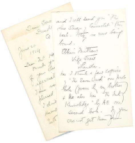 12D: Yeats (Elizabeth Corbet, printer, 1868-1940)