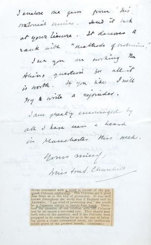 13D: Churchill (Sir Winston, statesman