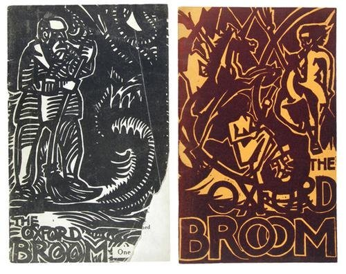 264D: Waugh.- Oxford Broom,nos.1-3,1923