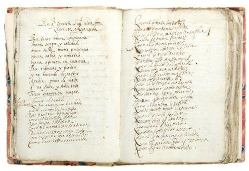488D: Religious.- [Commonplace book of poetry
