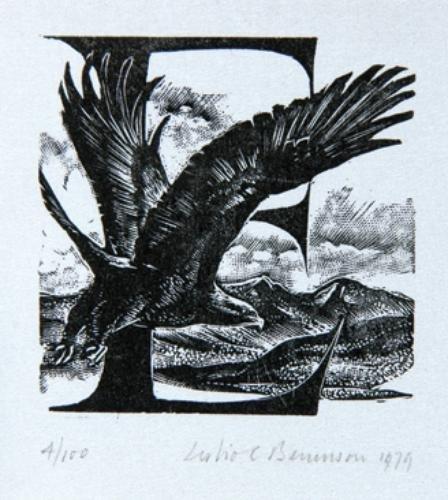 578: Benenson (Leslie Charlotte) A Falconry Alphabet