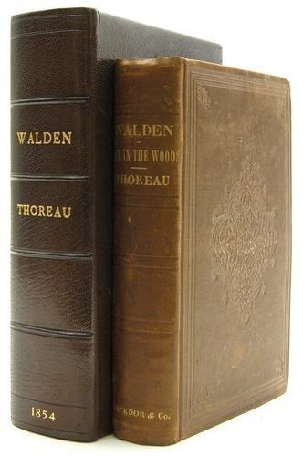 75: Thoreau (Henry David) Walden;