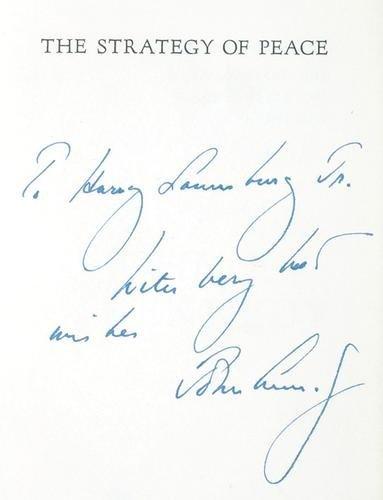 228: Kennedy (John F.) The Strategy of Peace