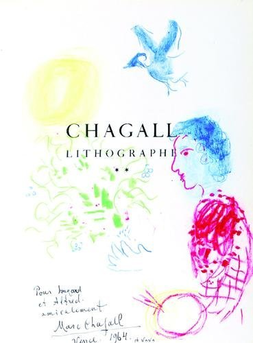 6: Marc Chagall, self portrait, flowers and bird