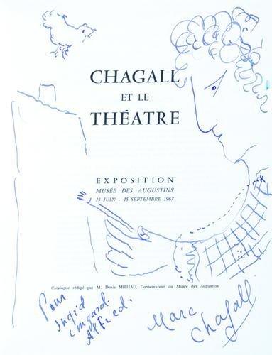 11: Marc Chagall (1887-1985) self portrait