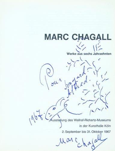 12: Marc Chagall, werke aus sechs jahrzehnten